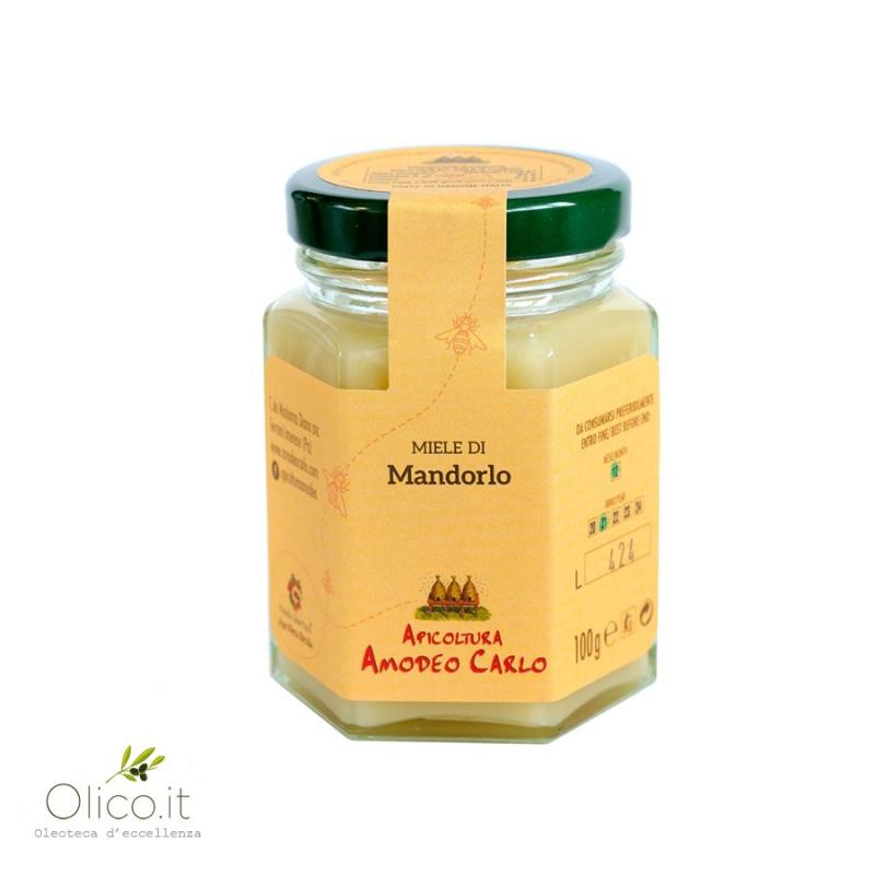 Almond tree Honey - Sicilian Black Bee