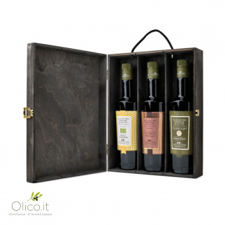 Box selezione Olio Extra Vergine di Oliva Galantino 500 ml x 3