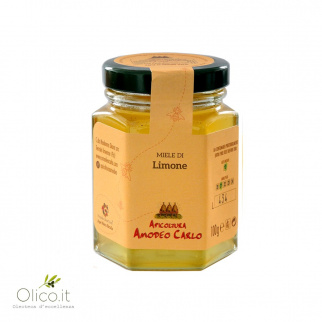 Lemon Honey - Sicilian Black Bee