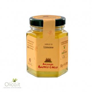 Miel de Citronnier Abeille Noire Sicilienne 100 gr
