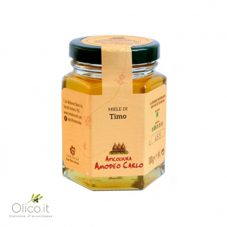 Thyme Honey - Sicilian Black Bee