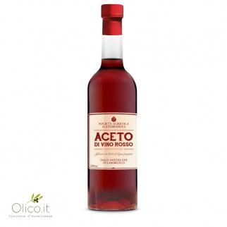 Aceto di Vino Rosso da Uve di Lambrusco Affinato in botti 500 ml