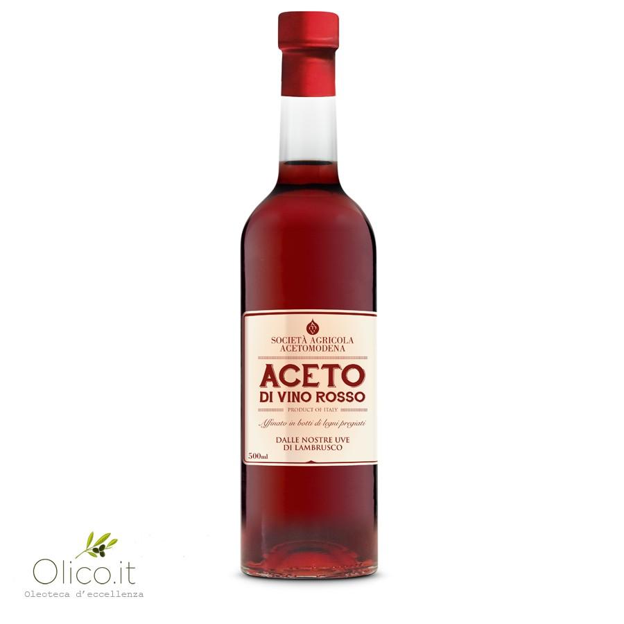 Lambrusco Red Wine Vinegar Aged In Barrels 500 Ml Acetomodena