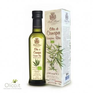 Biologisches natives Öl aus echte Hanf 250 ml