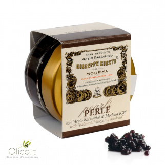 Perles Noires de Vinaigre Balsamique 50 gr