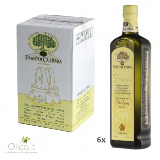 Extra Virgin Olive Oil Primo Fine Quality Cutrera 750 ml x 6