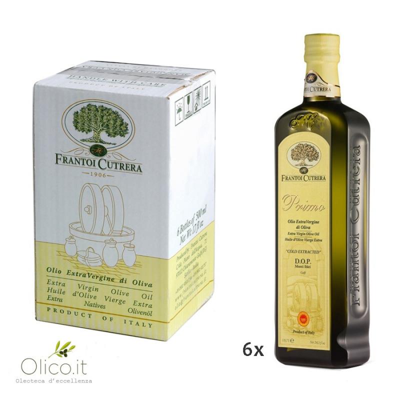 Olio Extra Vergine di Oliva Primo DOP Monti Iblei Gulfi 500 ml x 6