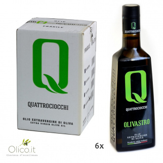 Extra Virgin Olive Oil Olivastro 500 ml x 6