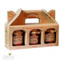 """I 3 Tesori"" Typical Calabrian Sauces Trio: Bomba Calabrese, 'Nduja, Tropeana  180 gr x 3"