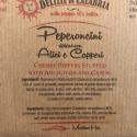 Tris di Peperoncini Ripieni: Tonno, Alici e Capperi, Pecorino di Calabria 170 gr x 3