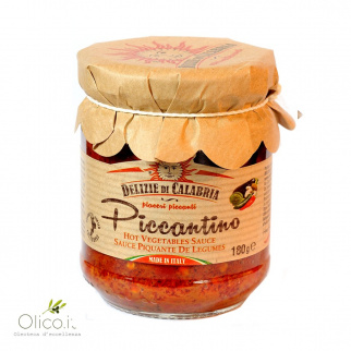 Piccantino Spicy Vegetables Bruschetta 180 gr