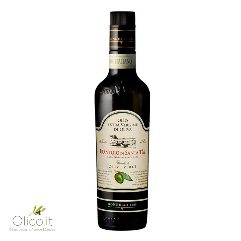 Extra Virgin Olive Oil Green Olives 500 ml