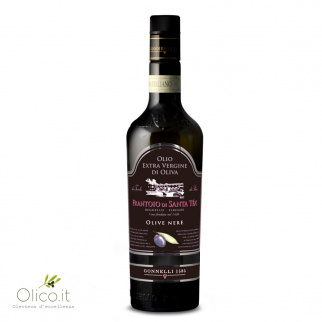 Huile d'Olive Extra Vierge Récolte Olives Noires 500 ml