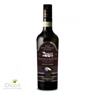 Natives Olivenöl Schwarze Oliven 500 ml