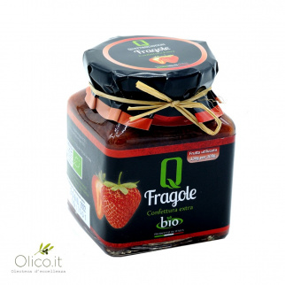 Organic Strawberry Extra Jam 350 gr
