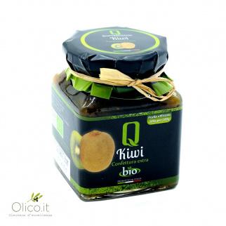 Organic Kiwi Fruit Extra Jam 350 gr