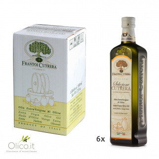 Huile d'Olive Extra Vierge Selezione Cutrera 500 ml x 6