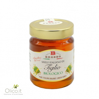 Organic Linden Honey 350 gr