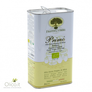 Huile d'Olive Extra Vierge Primo Biologique Cutrera 3 lt