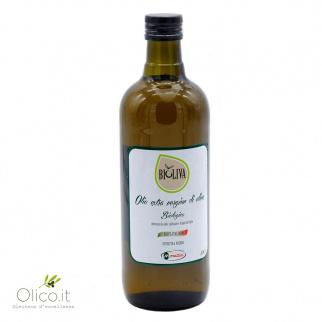 Huile d'Olive Extra Vierge Biologique Bioliva 1 lt