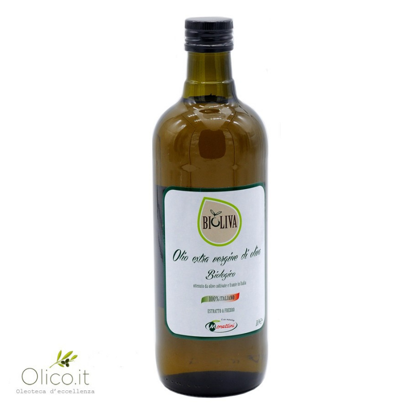 "Organic Extra Virgin Olive Oil ""Bioliva"" - Oleificio Toscano Morettini"