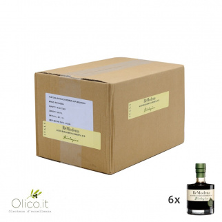 """Vinagre Balsámico Orgánico de Módena IGP """"Sigillo Verde"""" 250 ml x 6"""