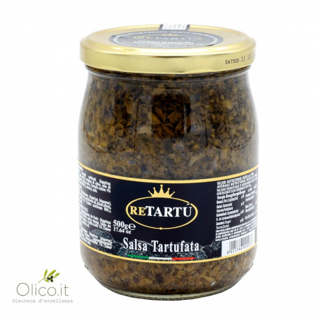 Sauce avec truffes Maxi Format 500 gr