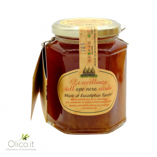 Tardivo Eucalyptus Honey Sicilian Black bee 400 gr