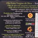 Extra Virgin Olive PDO Valle del Belice 500 ml