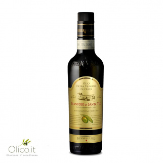 Extra Virgin Olive Oil Monocultivar Frantoio 500 ml