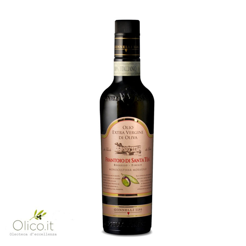 Extra Virgin Olive Oil Monocultivar Moraiolo 500 ml