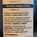 Olio Extra Vergine di Oliva Monocultivar Cima di Mola 500 ml