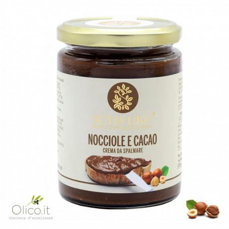 Crema da spalmare alle Nocciole e Cacao 370 gr