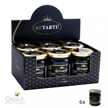 Salsa Nera al Tartufo 180 gr x 6