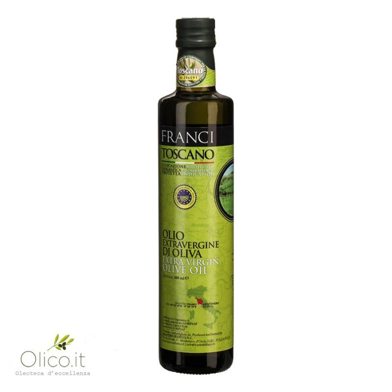 Huile d'olive Extra Vierge Toscane IGP 500 ml