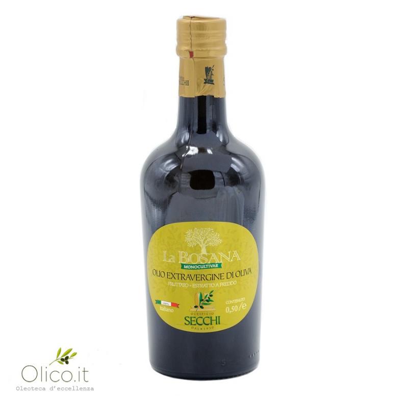 Huile d'Olive Extra Vierge Monovariétale La Bosana