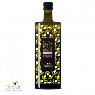 Essenza Huile d'Olive Extra Vierge Fruitée Moyenne Monovariétale Peranzana 500 ml
