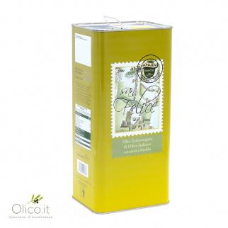 Aceite de oliva virgen extra San Felice Bonamini 5 lt