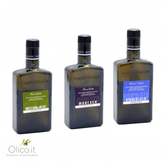 Extra Virgin Olive Oils Monocultivar Selection Galioto 500 ml x 3