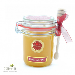 Alpine Flowers Honey from Piemonte 400 gr