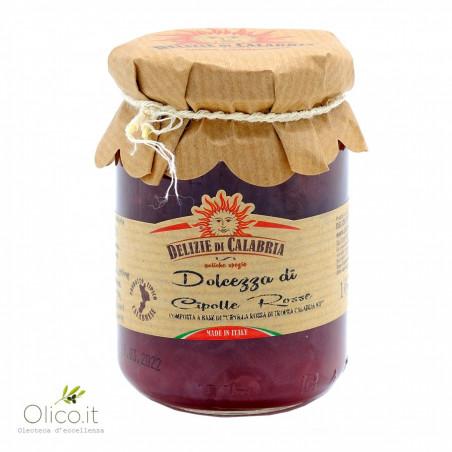 Confiture d'Oignon Rouge de Tropea IGP 160 gr