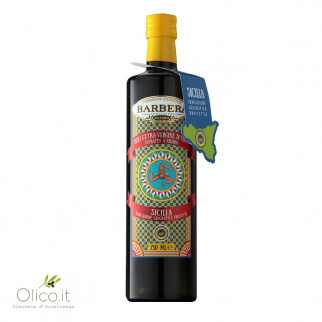 Extra Virgin Olive Oil Barbera Sicilia PGI 750 ml