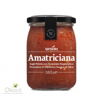 Amatriciana ready pasta sauce 260 gr