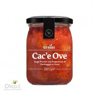 Albóndigas de queso y huevo en salsa de tomate 260 gr