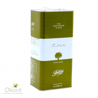 Huile d'Olive Extra Vierge Fruttato Intini 5 lt