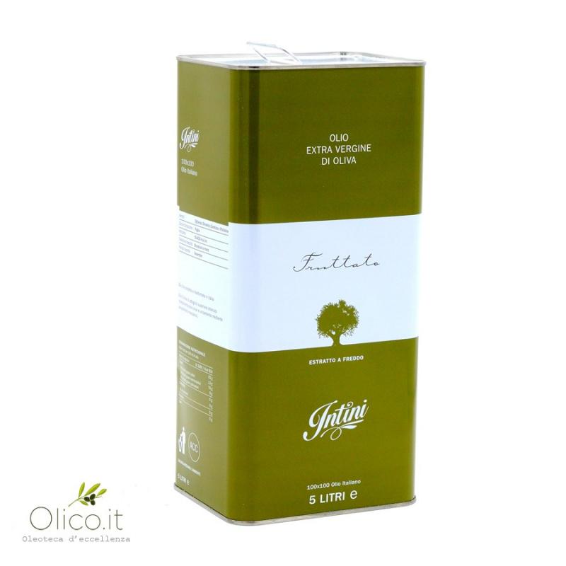 Monocultivar Extra Virgin Olive Oil Olivastra 500 ml