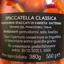 Spaccatella Classica di Pomodorini Datterini 550 gr