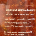 Sciuè Sciuè sugo pronto al basilico e pomodoro 260 gr