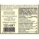 Crème à base de Vinaigre Balsamique de Modène IGP et Framboise 150 ml