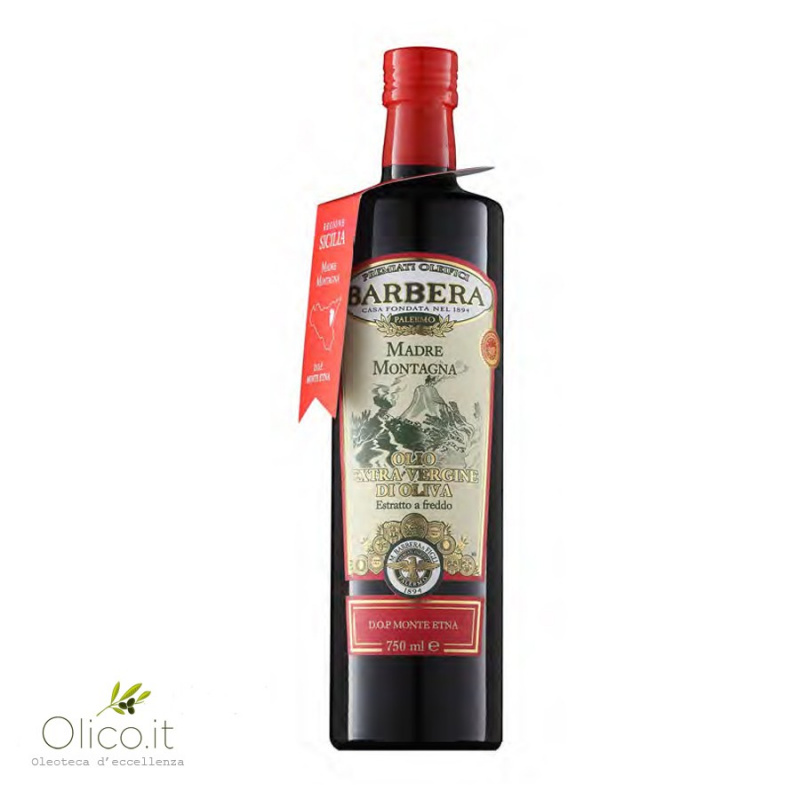 Extra Virgin Olive Oil Madre Montagna PDO Monte Etna 750 ml